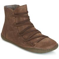 Boty Ženy Kotníkové boty Camper PEU CAMI Hnědá