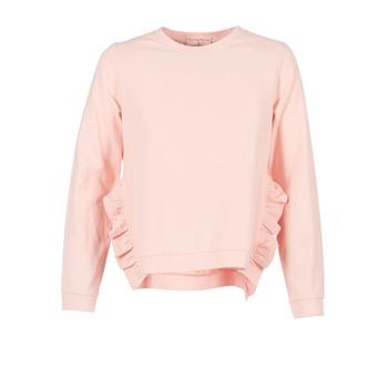 Textil Ženy Mikiny Moony Mood  Růžová