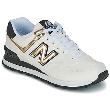 Boty Ženy Nízké tenisky New Balance WL574 Bílá