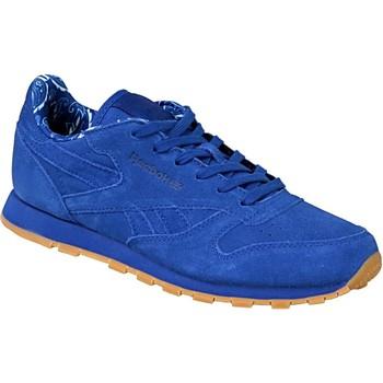 Boty Děti Nízké tenisky Reebok Sport Classic Leather TDC bleu