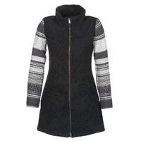 Textil Ženy Kabáty Desigual GRAME Černá