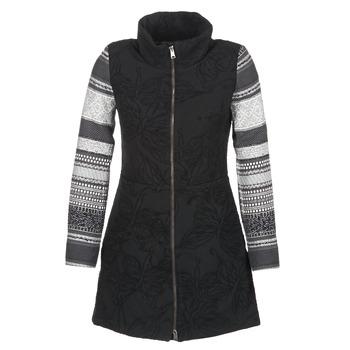 Desigual Kabáty GRAME - Černá