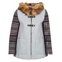 Textil Ženy Kabáty Desigual GERDI Šedá