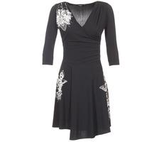 Textil Ženy Krátké šaty Desigual GRAFU Černá