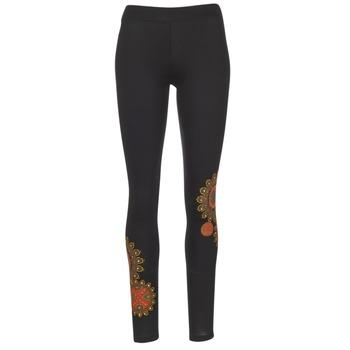 Textil Ženy Legíny Desigual JULEF Černá