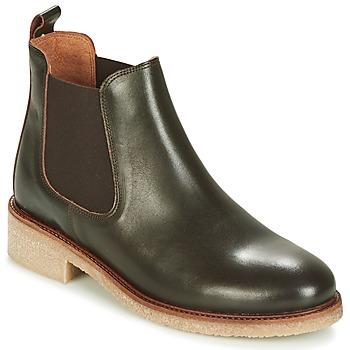 Boty Ženy Kotníkové boty Bensimon BOOTS CREPE Hnědá