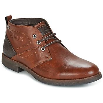 Tom Tailor Kotníkové boty LAORA - Hnědá