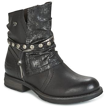 Boty Ženy Kotníkové boty Tom Tailor RESTOUNE Černá