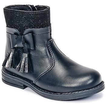 Boty Dívčí Kotníkové boty Citrouille et Compagnie HEYLI Černá