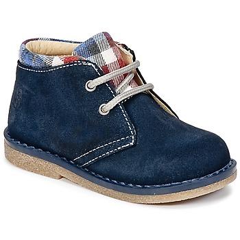 Boty Chlapecké Kotníkové boty Citrouille et Compagnie HEYLI Tmavě modrá