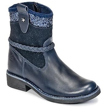 Boty Dívčí Kotníkové boty Citrouille et Compagnie HAYO Modrá