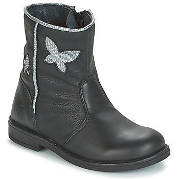 Boty Dívčí Kotníkové boty Citrouille et Compagnie HORELI Černá