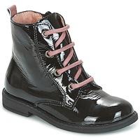 Boty Dívčí Kotníkové boty Citrouille et Compagnie HEMANU Černá / Růžová