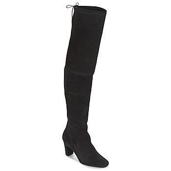 Boty Ženy Vysoké kozačky nad kolena Betty London HENNA Černá