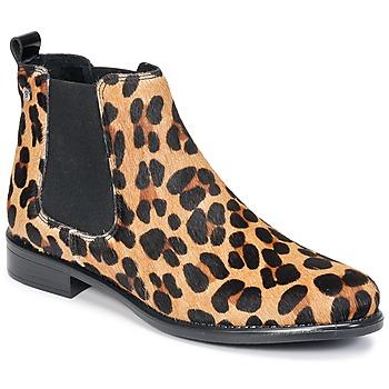 Boty Ženy Kotníkové boty Betty London HUGUETTE Hnědá