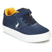 Boty Děti Nízké tenisky Polo Ralph Lauren HANFORD HM EZ Tmavě modrá