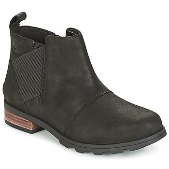 Boty Ženy Zimní boty Sorel EMELIE CHELSEA Černá