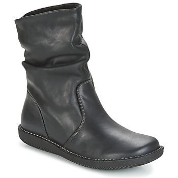 Boty Ženy Kotníkové boty Casual Attitude HAPANO Černá