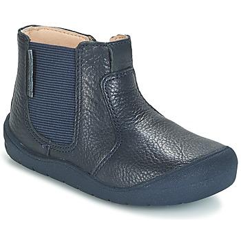 Boty Děti Kotníkové boty Start Rite FIRST CHELSEA Tmavě modrá