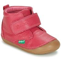 Boty Dívčí Kotníkové boty Kickers SABIO Fuchsiová