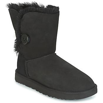 Boty Ženy Kotníkové boty UGG BAILEY BUTTON II Černá
