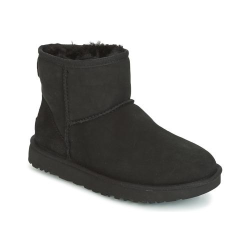 Boty Ženy Kotníkové boty UGG CLASSIC MINI II Černá