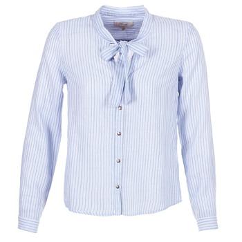 Textil Ženy Košile / Halenky Cream CAMA STRIPED SHIRT Modrá