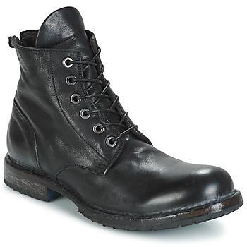 Boty Muži Kotníkové boty Moma CUSNA NERO Černá