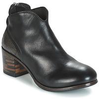 Boty Ženy Kotníkové boty Moma CUSNA NERO/ TALON TACO MIX, ARRIRE AFRICA Černá / Stříbřitá