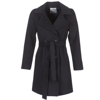 Textil Ženy Kabáty Casual Attitude HALLOA Černá