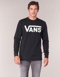 Textil Muži Mikiny Vans VANS CLASSIC CREW Černá