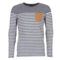 Textil Muži Trička s dlouhými rukávy Le Temps des Cerises VINCENT Šedá