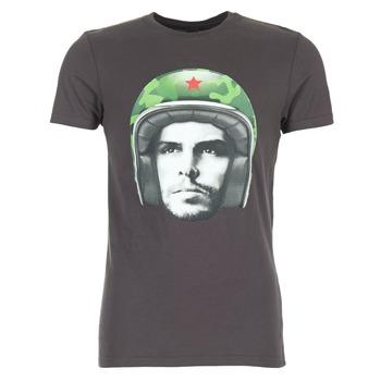 Textil Muži Trička s krátkým rukávem Le Temps des Cerises CUBA Šedá
