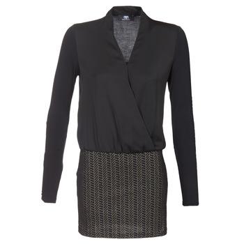 Textil Ženy Krátké šaty Le Temps des Cerises MALAYA Černá