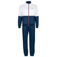 Textil Muži Teplákové soupravy Sergio Tacchini LACKSON TRACKSUIT Tmavě modrá / Bílá