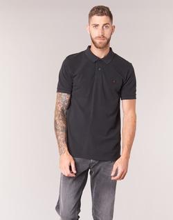 Textil Muži Polo s krátkými rukávy Replay POLOMI Černá