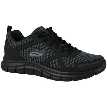 Boty Muži Nízké tenisky Skechers Track Černá