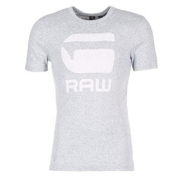 Textil Muži Trička s krátkým rukávem G-Star Raw DRILLON Šedá