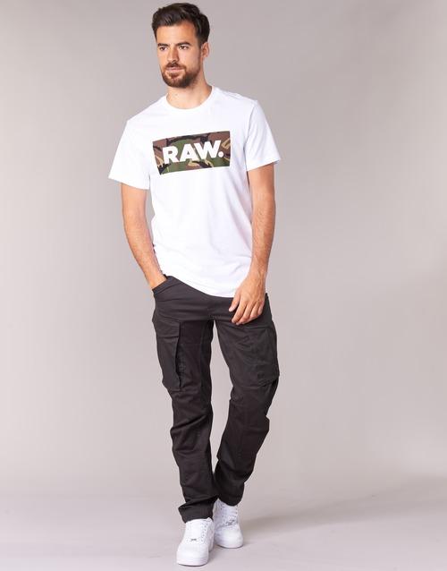 Textil Muži Cargo trousers  G-Star Raw ROVIC ZIP 3D TAPERED Šedá