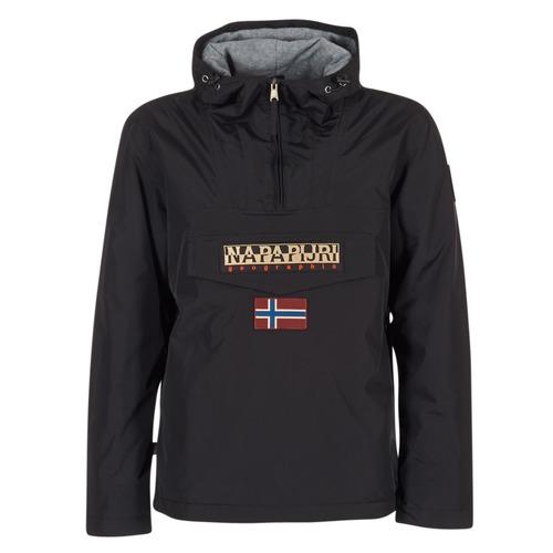 Textil Muži Parky Napapijri RAINFOREST Černá