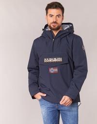 Textil Muži Parky Napapijri RAINFOREST Tmavě modrá