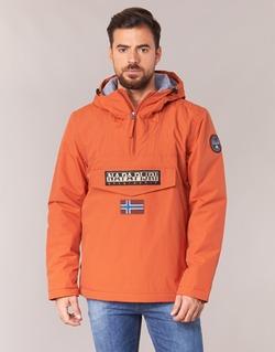 Textil Muži Parky Napapijri RAINFOREST Oranžová