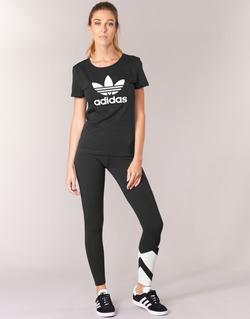 Textil Ženy Legíny adidas Originals EQT LEGGINGS Černá / Bílá