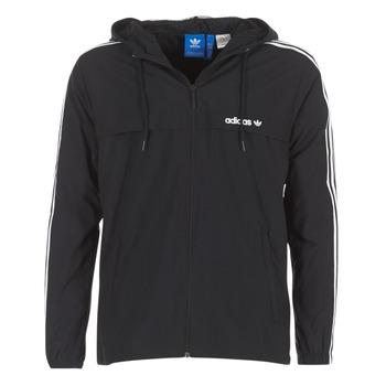 Textil Muži Větrovky adidas Originals 3 STRIPED WB Černá