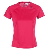 Textil Ženy Trička s krátkým rukávem adidas Performance D2M TEE LOSE Růžová