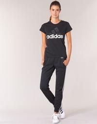 Textil Ženy Teplákové kalhoty Adidas Performance PAP ESS 3S PANT CH Černá