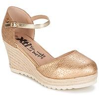 Boty Ženy Sandály Xti  Zlatá