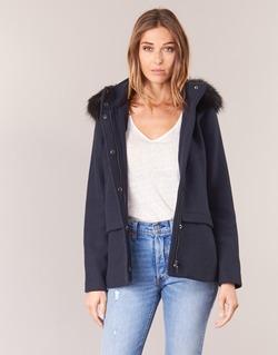 Textil Ženy Kabáty Esprit CARDA Tmavě modrá