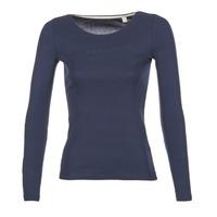 Textil Ženy Trička s dlouhými rukávy Esprit GIMUL Tmavě modrá