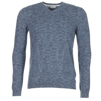 Textil Muži Svetry Esprit GARCHE Tmavě modrá